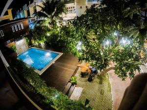 Vista de la piscina de i Lanna House o alrededores
