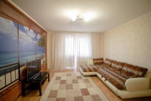 Гостиная зона в Apartments on Vodopyanova