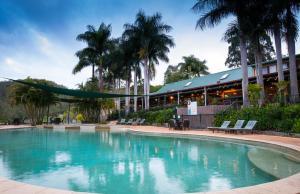 The swimming pool at or near Cedar Lake Country Resort