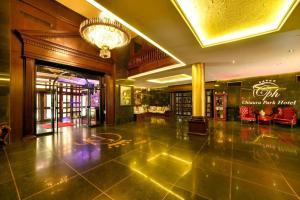 Лобби или стойка регистрации в Chtaura Park Hotel