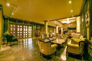 Лаундж или бар в Chtaura Park Hotel