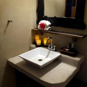 Un baño de Chaktunche Rancho Ecolodge