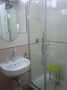A bathroom at Da Agnese Locazioni brevi
