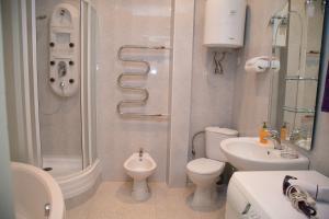 A bathroom at Apartment in Khreshchatyk Passage