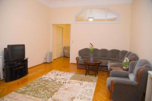 A seating area at Apartment in Khreshchatyk Passage