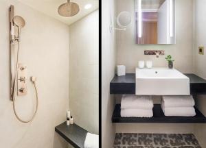 Hotel Ducs de Bourgogneにあるバスルーム