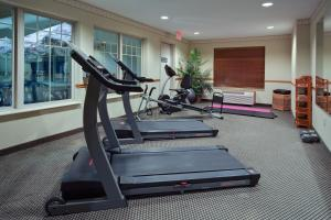 The fitness center and/or fitness facilities at Country Inn & Suites by Radisson, Stockton, IL