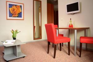 TV/Unterhaltungsangebot in der Unterkunft Hotel & Apartments Fürstenhof am Bauhaus