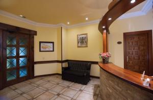 The lobby or reception area at Hotel La Venta de Goyo