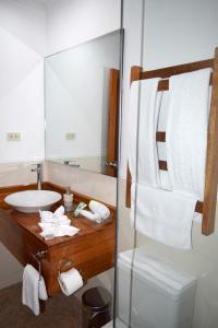 A bathroom at Hotel Jungle House