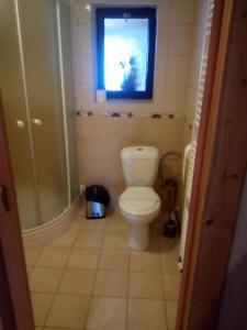 Koupelna v ubytování Penzion U Slunce