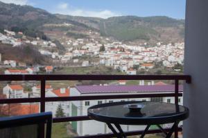 Uma varanda ou terraço em Hotel Vale do Zezere