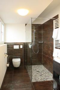 Ein Badezimmer in der Unterkunft Alte Schmiede