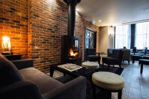 The lounge or bar area at Malmaison Reading