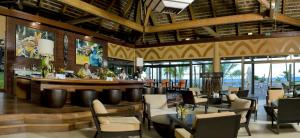 A restaurant or other place to eat at Hotel Tieti