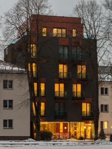 Viešbutis Simpatija during the winter
