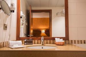 A bathroom at Magic Pas