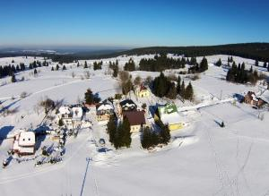 Pension H.Blatná during the winter