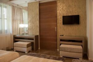 TV/Unterhaltungsangebot in der Unterkunft Varga Tanya Hotel