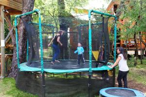 Children's play area at Cabañas Bafemadi
