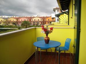 Balkón nebo terasa v ubytování Villaggio Laguna