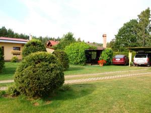 Ogród w obiekcie Dom wczasowy Fala w Kopalinie