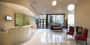 The lobby or reception area at Hotel Spa Ciudad de Astorga By PortBlue Boutique