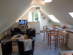 Restaurant ou autre lieu de restauration dans l'établissement Apart - Country at Tingry