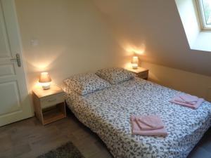 Un ou plusieurs lits dans un hébergement de l'établissement Apart - Country at Tingry
