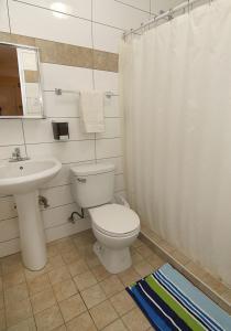 A bathroom at Dreams Hotel Puerto Rico