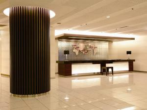 The lobby or reception area at Akita Castle Hotel