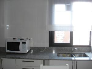A kitchen or kitchenette at Tucuman Norte Apartment