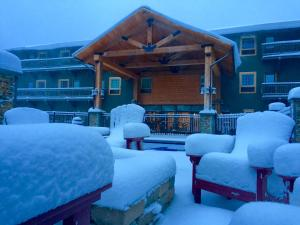 Caberfae Peaks Ski & Golf Resort during the winter