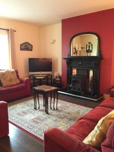A seating area at Red Gate House B&B