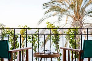 A balcony or terrace at 105 Suites