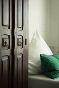Ein Bett oder Betten in einem Zimmer der Unterkunft Landhaus Elbeflair bei Dömitz