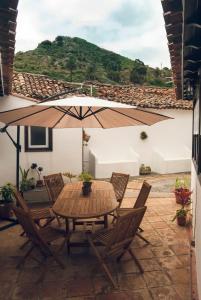 Un balcón o terraza de Casa Rural El Palmar