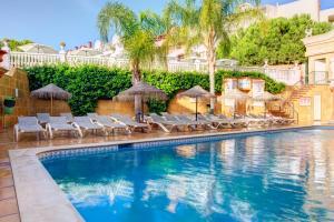 A piscina em ou perto de Choromar Apartments