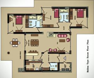 Планировка Villa Alisa Bansko