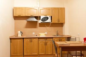 Кухня или мини-кухня в Apartments Ullberg