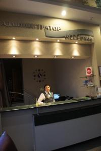 Лобби или стойка регистрации в Гостиница Акрон