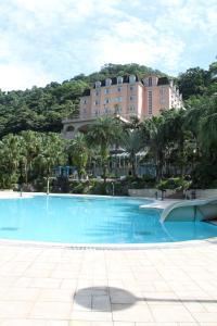 萊馥健康休閒渡假村游泳池或附近泳池