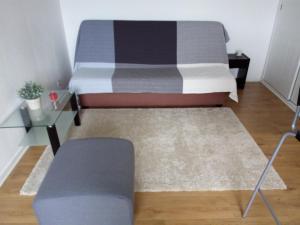 A seating area at Apartment Plage Lafitenia