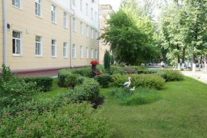 Сад в Гостиница Акрон