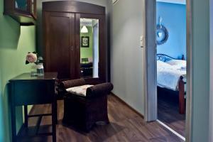 Ein Badezimmer in der Unterkunft Gasthaus da Enzo