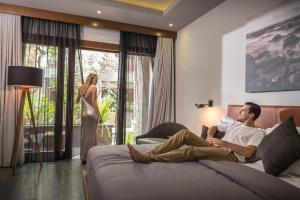 Guests staying at Akana Boutique Hotel