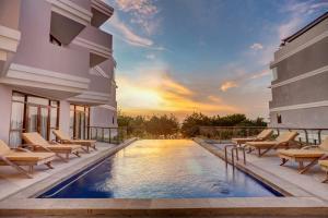 The swimming pool at or near Wyndham Garden Kuta Beach Bali