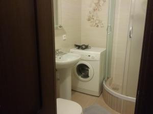 Ванная комната в Apartment Vorovskogo 49 у музея