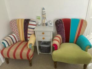 A seating area at Stepping Stones B&B