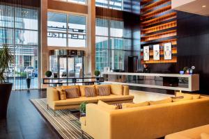 The lobby or reception area at Centro Yas Island-by Rotana